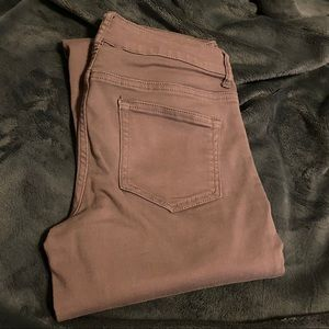 Maurices Mauve Skinny Jeans